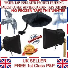 Water Tap Protection Anti Freezing Ice Faucet Cover Winter Garden Taps Insulated