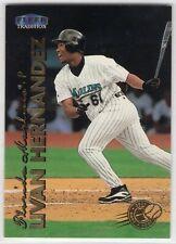 1999 Fleer Tradition Millennium Edition Baseball Miami Marlins Team Set