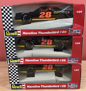 DAVEY ALLISON #28 HAVOLINE 1/24 REVELL DIECAST CAR NASCAR T-Bird NIB