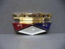 59 Ford hood emblem Galaxie Fairlane Sunliner Skyliner Ranchero Victoria