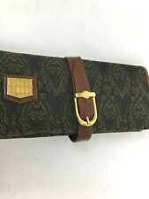 VTG Fiocchi  Italy Leather Travel Accessory Carrier Necklace  Bag  VERY RARE
