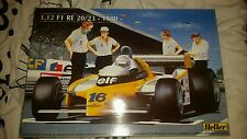 Heller 1/12 F1 Renault Re 20/23 1980 Complete Very Rare