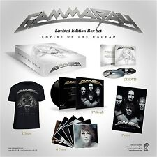 Gamma Ray Empire of the unDead Box Set with Poster t shirt dvd vinyl and more!!!