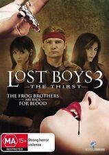 Lost Boys - The Thirst (DVD, 2010) PAL R4 Corey Feldman VGC Free Shipping