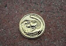 Legacy Ninja Gold Ranger FALCON Power Coin, Fits Legacy Morphers Only Prop