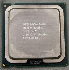 Intel PENTIUM E6600 3,06 ghz processeur double cœur