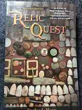 NEW RELIC QUEST BOOK for Modern Metal Detectors Detecting Garrett 1510000