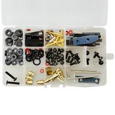 Portable 1 Set Tattoo Complete Machine Gun Repair Parts Tools with Box Set