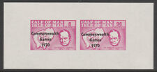 IOM Calf of Man 6053 - 1970 COM GAMES & CHURCHILL  m/sheet unmounted mint