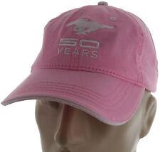 797914dbc81a9 Ford Mustang 50 Years Pink Baseball Cap Trucker Hat Snapback GT Cobra