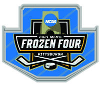 2021 MEN'S FROZEN FOUR PIN COLLECTOR LAPEL STYLE CHAMPIONSHIP NCAA ICE HOCKEY