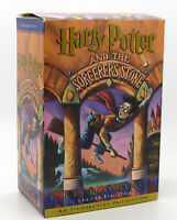 J.K. Rowling & Jim Dale HARRY POTTER AND THE SORCERER'S STONE  1st Edition 1st P