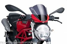 DUCATI Monster 696 796 1100 Puig Windshield Deflector pantalla completamente replegada Bicicleta 450040A
