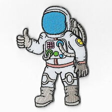 Astronaut Sew Iron On Patch Spaceman Embroidered Craft Pilot Badge Emblem Logo
