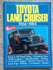 Toyota Land Cruiser: 1956 - 1984 (Brooklands Road Tests) by R.M. Clarke / 1990