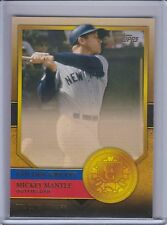 MICKEY MANTLE  2012 Topps Golden Greats #GG-33   (B7294)