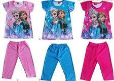 Pijamas y batas de niña de 2 a 16 años conjuntos de color principal azul