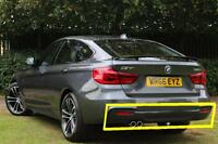 BMW NEW GENUINE F34 GT 13-17 M SPORT BUMPER DIFFUSER WITH DOUBLE MUFFLER HOLE
