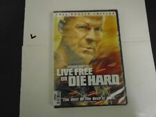 LIVE FREE OR DIE HARD F.S. DVD NEW  BRUCE WILLIS, 024543476078