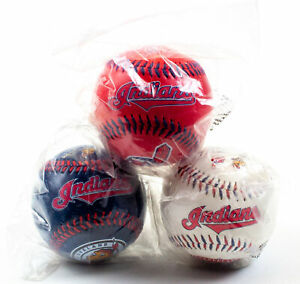 Cleveland Indians: 100 Year Celebration Chief Wahoo: No Stand - QTY 3 | NEW