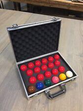 Aluminium Snooker Ball Carry Case (Holds 22 Balls)