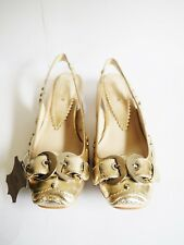 """Orizonte"" Size 39 Ladies Cream 'Jaclyn' Platino Leather Shoes BNIB! RRP $119.95"