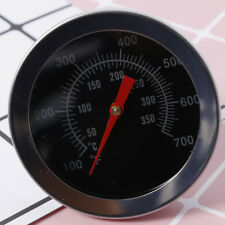 Fine Stainless Steel BBQ Grill Meat Thermometer Dial Temperature Gauge Utensil