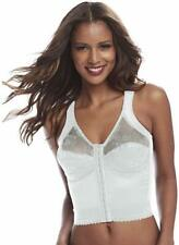Cortland Shapewear Back Support Longline White Bra Band 52 Multiple Cup Sizing