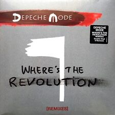 Depeche Mode 2x12'' Where's The Revolution [Remixes] - Europe (M/M - Scellé
