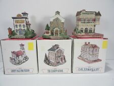 Lot of 3 Liberty Falls Americana Collection Village w/ Boxes