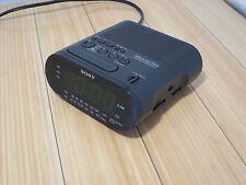 Sony Dream Machine Am/Fm Radio Digital Bedside Night Alarm Clock Model Icf-C218