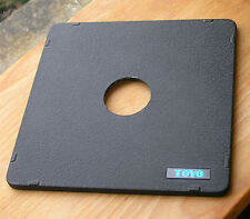 Toyo monorail  5x4 10x8   lensboard for copal compur 0 158mm square