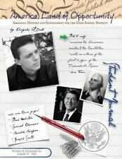 America, Land of Opportunity Student Journal : A Living History of Our World...