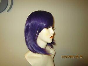 Drag Queen Sexy Purple Bob Wig