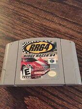 Ridge Racer 64 (Nintendo 64, 2000) N64 Game Cart NE5