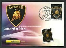 Lamborghini Miura - Cartolina Ufficiale Poste Italiane - 2007
