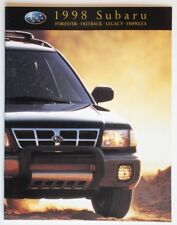 SUBARU 1998 Forester Outback Impreza dealer brochure catalog - French - Canada