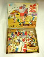 VINTAGE MB Tiny Toon Adventures 24 Piece Puzzle - EUC