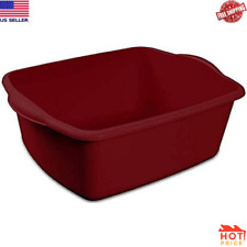 "Sterlite 12 Quart Dishpan Basin, Multi-purpose,15 3/4"" x 12 1/2 &#