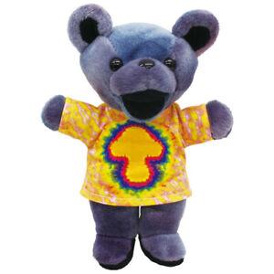 Grateful Dead BEAN BEAR TIE DYE JERRY MUSHROOM Plush Doll 7in Japan