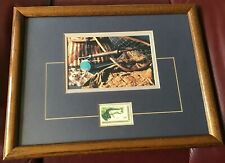 Wildlife Conservation Us 8 Cent Trout Stamp Picture Framed Reduced