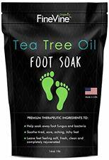 Tea Tree Oil Foot Soak-Epsom Salt-Made in USA- Toenail Fungus, Athletes Foot...