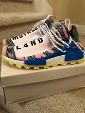 Adidas NMD Pharrell Human Race HU Solar Pack Mother Land Size 9.5 DS New