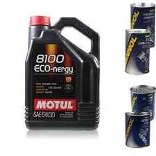 5L Motul 8100 Eco-Nergy 5W30 1xLeak-Stop + Molibden + Motor Doctor + Flusch