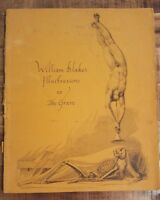 ILLUSTRATIONS TO THE GRAVE by William Blake - 1969 Softcover