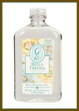 U.S.SHIPS FREE Greenleaf BELLA FREESIA Reed Diffuser Oil 8.5 oz Made in U.S.A