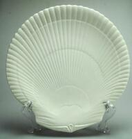 Antique Wedgwood Etruria & Barlaston Nautilus Sea Shell Shape Dinner Plate VA65