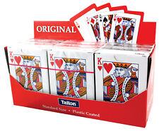 Enduit de plastique Cartes à jouer Pack 12