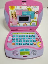 Mattel 2003 Barbie Talking Online Laptop Portable Electronic Toy BE-184 Working