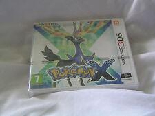 Pokemon x  complete  3ds new